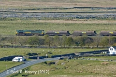 Ribblehead Railway Construction Camp: Site of Ashwell's Yard from the NNE (v1)