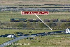Ribblehead Railway Construction Camp: Site of Ashwell's Yard from the NNE (v2)
