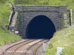 Blea Moor Tunnel North Portal (Bridge No 072): Northeast elevation view