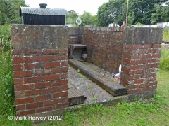 Armathwaite SB Coal-bunker:  North-east elevation view`