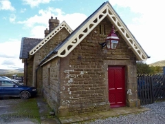 Ribblehead Station Booking Office: Northern elevation view
