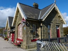 Ribblehead Station Booking Office: Southern elevation view