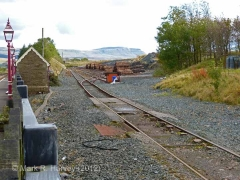 Ribblehead Quarry Siding: Context view from the north-west