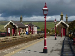 Garsdale Signal Box: Context view from the south-east