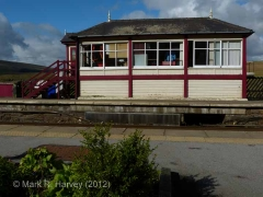 Garsdale Signal Box: South-east elevation view