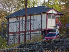 Garsdale Signal Box: West elevation view