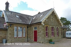 Kirkby Stephen Station Booking Office, viewed from the southeast