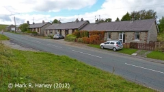 Kirkby Stephen Workers' Housing (New Midland Cottages): Context view from the SE
