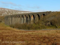 Platelayers' Hut - Ribblehead Viaduct South: Context view from the south