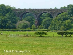 Long Marton Viaduct (SAC/252): North-eastern elevation view