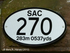 Bridge SAC/270 (Kirkby Thore Road): Bridge-plate