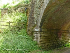 Bridge SAC/270 (Kirkby Thore Road): North-east wingwall