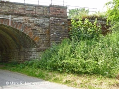 Bridge SAC/270 (Kirkby Thore Road): North-west wingwall