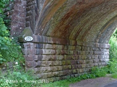 Bridge SAC/270 (Kirkby Thore Road): West abutment
