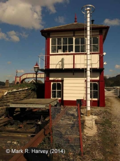 Settle Station Signal Box (1997 - present): South elevation view
