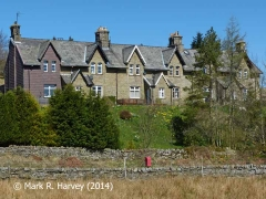Moorcock Cottages, Garsdale: Context view from the south