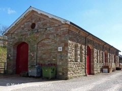 Appleby Station Goods Shed: West elevation view