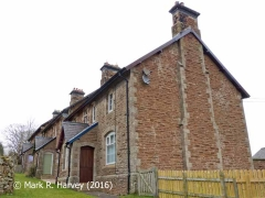 Crosby Garrett Railway Cottages: South elevation view