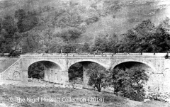 Sheriff Brow Viaduct shortly after construction (West Elevation)