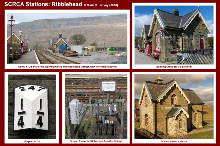 Photo-montage for Ribblehead Station