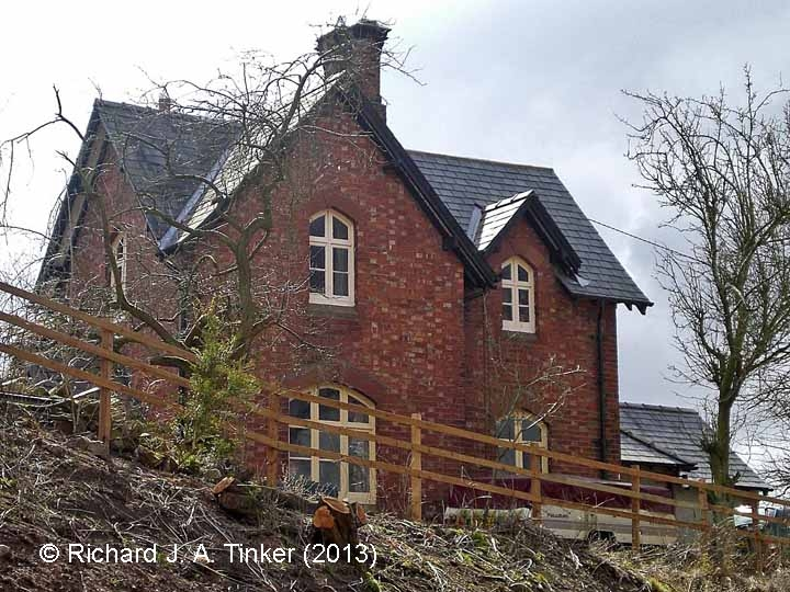Long Marton Station Master's House: North elevation view