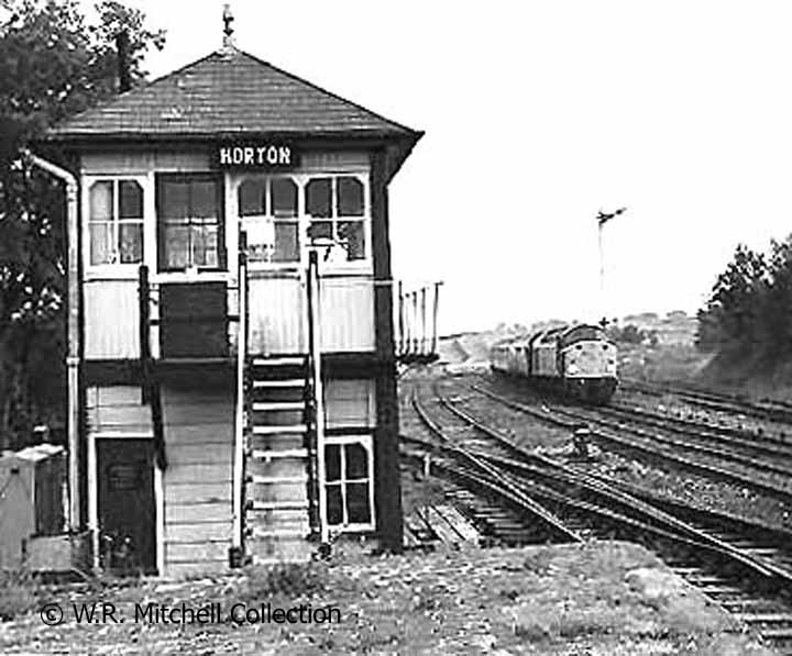 Horton-in-Ribblesdale Signal Box, north elevation