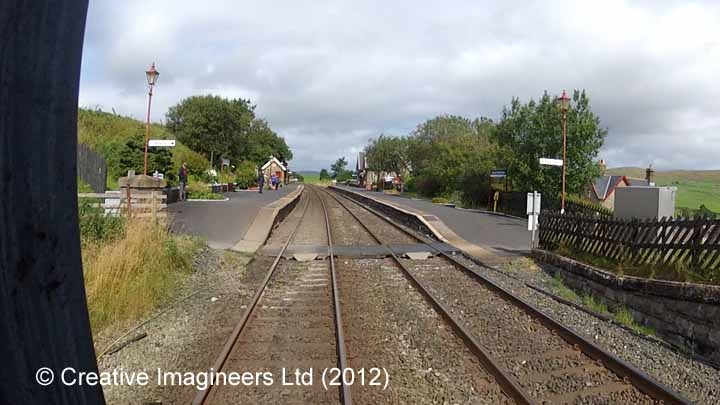 Horton-in-Ribblesdale Station - Barrow Crossing  & PROW (footpath)