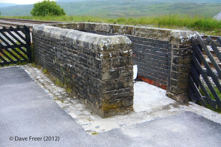 256585: Garsdale Station - Coal Bunker: Elevation view from the north east