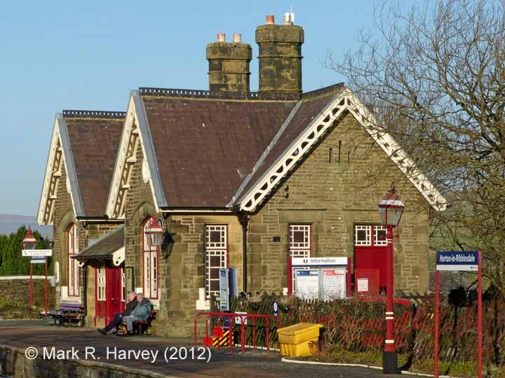 Horton Station Booking Office: South-western elevation view