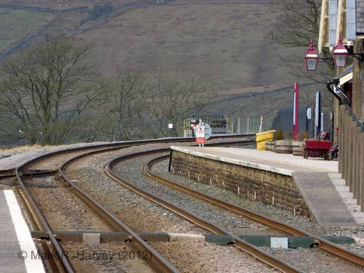 Ribblehead Station Barrow Crossing: Context view from the south-east