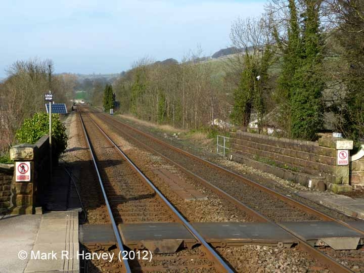 Settle Station - Barrow Crossing: South elevation