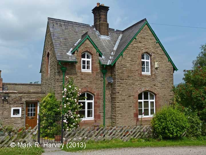 New Biggin Station Master's House: West elevation view