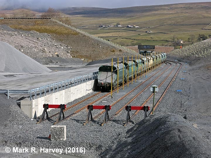 Helwith Bridge New Siding (for Arcow & Dry Rigg Quarries) from the West