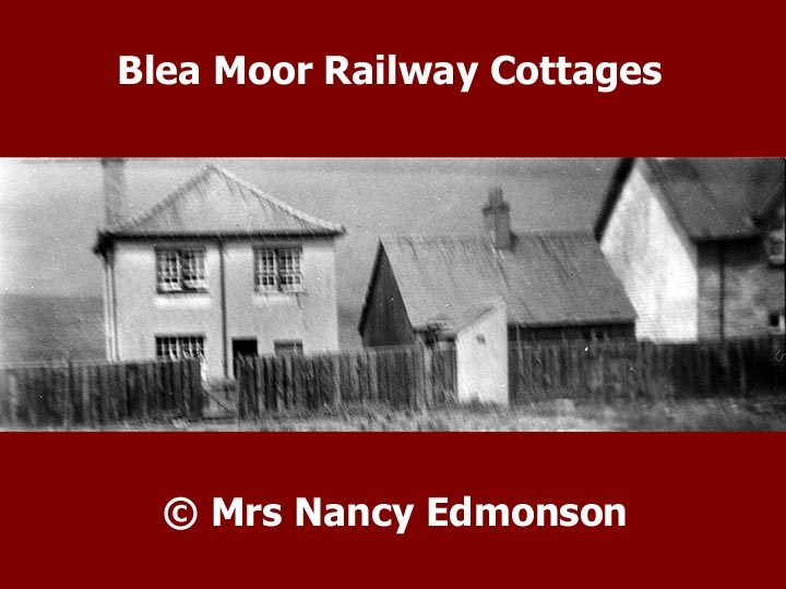 Blea Moor Railway Workers' Cottages: Context view from the east